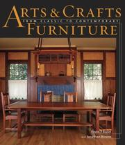Cover of: Arts and Crafts Furniture