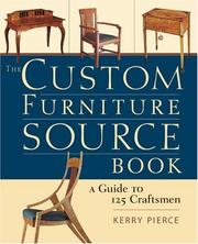 Cover of: The Custom Furniture Sourcebook