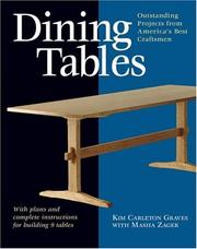 Cover of: Dining Tables