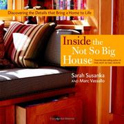 Cover of: Inside the Not So Big House
