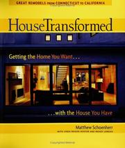 Cover of: House Transformed