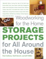 Cover of: Woodworking for the Home: Storage Projects