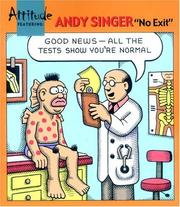Cover of: Attitude Featuring Andy Singer