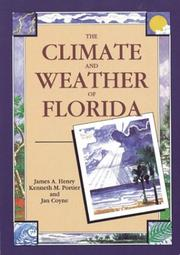 Cover of: The Climate and Weather of Florida