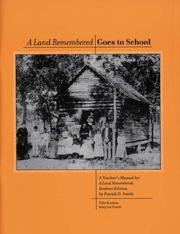 Cover of: A Land Remembered (Teacher's Manual for Student Edition)