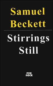 Cover of: Stirrings Still