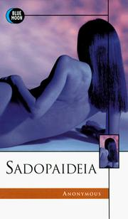Cover of: Sadopaideia