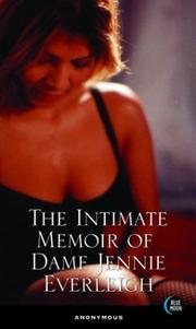 Cover of: The Intimate Memoir of Dame Jennie Everleigh