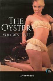 Cover of: The Oyster, Volumes I and II