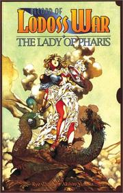 Cover of: Record Of Lodoss War Lady Of Pharis Book 1 (Record of Lodoss War (Graphic Novels))