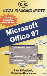Cover of: Office 97 Visual Reference Basics