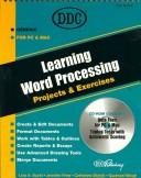 Cover of: Learning Word Processing