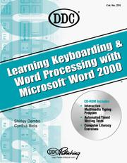 Cover of: Learning Keyboarding and Word Processing With Word 2000