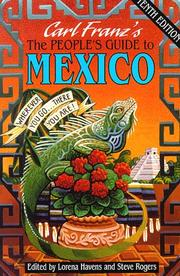 Cover of: The People's Guide to Mexico