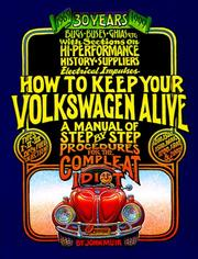 Cover of: How To Keep Your Volkswagen Alive, 30th Anniversary Ed