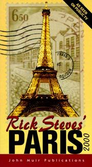Cover of: Rick Steves' Paris 2000