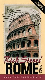 Cover of: Rick Steves' Rome 2000