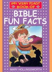 Cover of: My Very First Book of Bible Fun Facts (My Very First Books of the Bible)