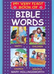 Cover of: My Very First Book of Bible Words (My Very First Books of the Bible)