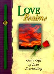 Cover of: Love Psalms