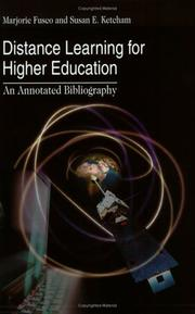 Cover of: Distance Learning for Higher Education