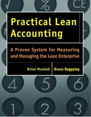 Cover of: Practical Lean Accounting