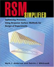Cover of: RSM Simplified