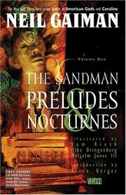 Cover of: The Sandman Vol. 1: Preludes and Nocturnes