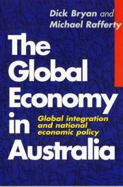 Cover of: The Global Economy in Australia
