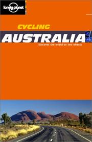 Cover of: Lonely Planet Cycling Australia (Cycling Guides)
