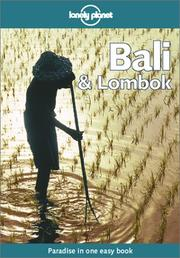 Cover of: Lonely Planet Bali & Lombok (Bali and Lombok, 8th ed)