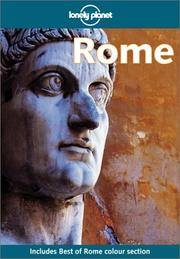 Cover of: Lonely Planet Rome