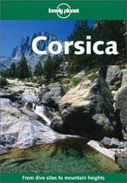 Cover of: Lonely Planet Corsica