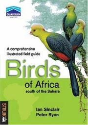 Cover of: Birds of Africa South of the Sahara