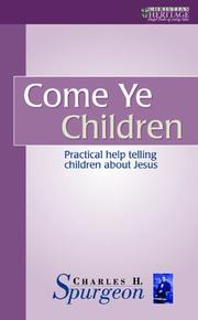 Cover of: Come Ye Children