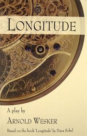 Cover of: Longitude: A Play