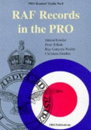 Cover of: RAF Records in the PRO (Public Record Office Readers Guide)
