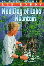 Cover of: Mad Dog of Lobo Mountain (The D.J. Dillon Adventure Series)