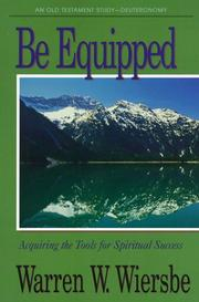 Cover of: Be Equipped (Be)