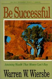 Cover of: Be Successful (Be)