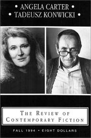Cover of: The Review of Contemporary Fiction (Fall 1994)
