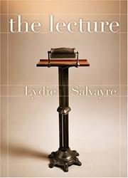 Cover of: The Lecture