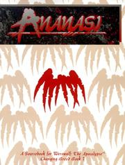 Cover of: Ananasi: Fangs of the Mother-Queen (Werewolf: The Apocalypse)