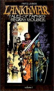 Cover of: Lankhmar: Tales of Fafhrd and the Gray Mouser (vol 1)