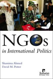 Cover of: NGOs in International Politics