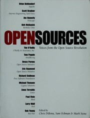 Cover of: Open sources