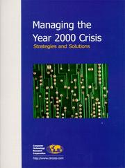 Cover of: Managing the Year 2000 Crisis