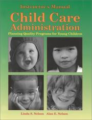 Cover of: Child Care Administration