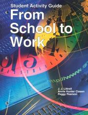 Cover of: From School to Work
