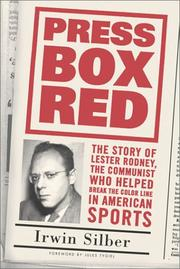 Cover of: Press Box Red